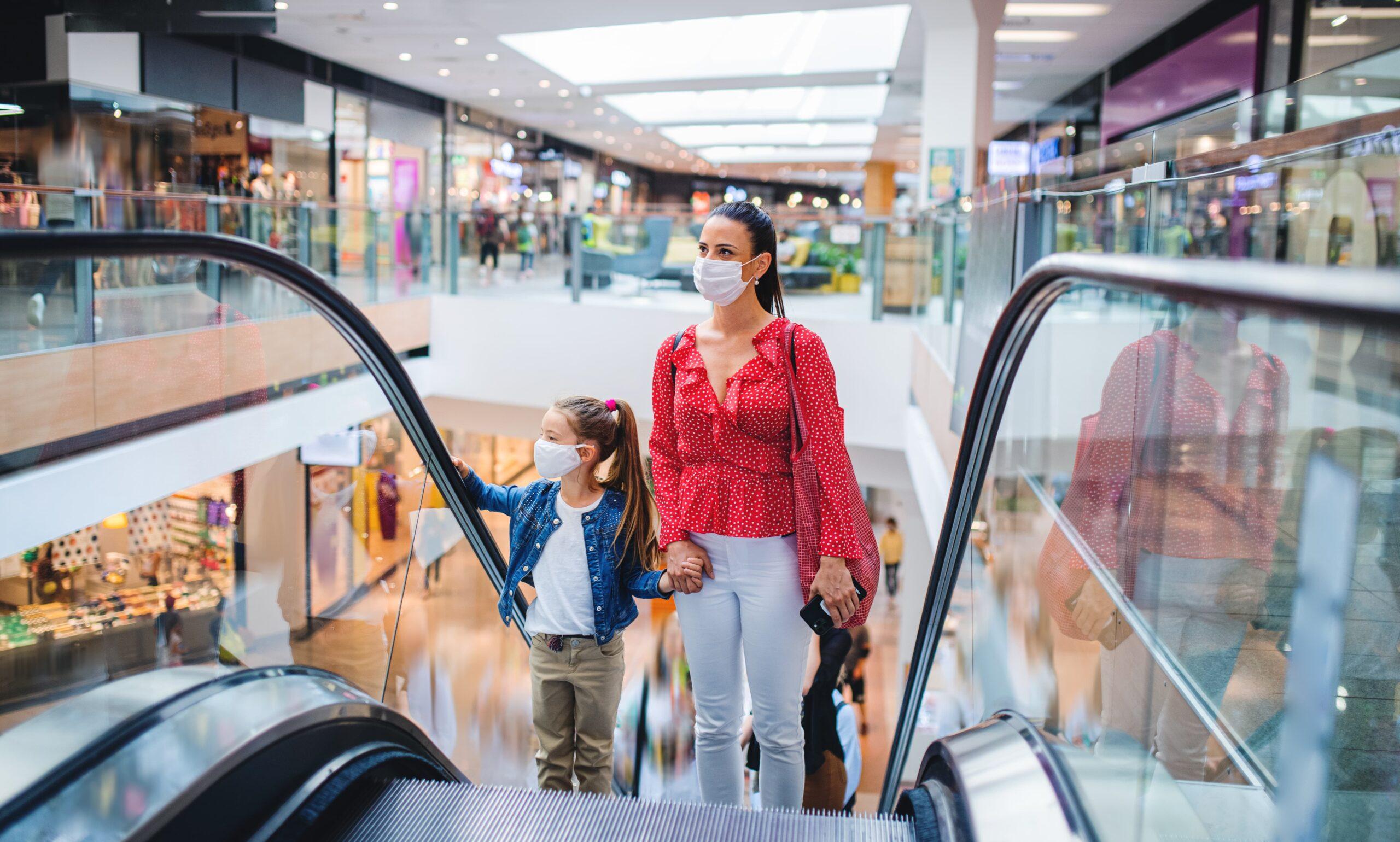 Dispositions Covid au Centre Commercial